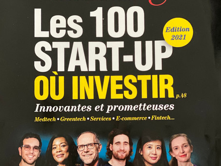 Dans les 100 StartUps Innovantes