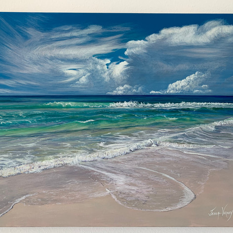"""Distant Storm & Turquoise Waters 