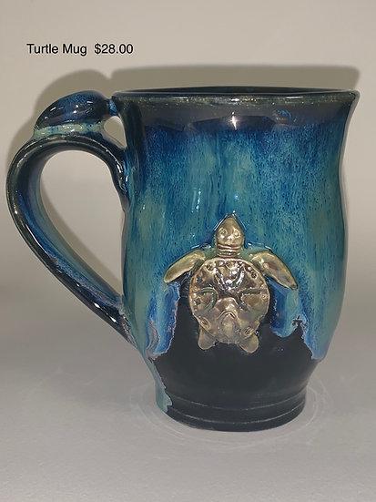 Turtle Mug Curved