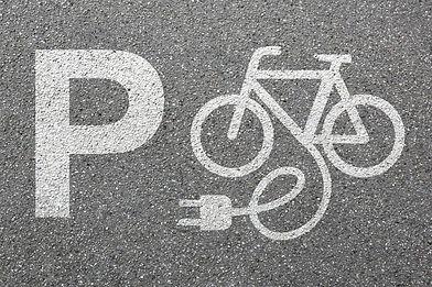Parking lot sign E-Bike E Bike Ebike par
