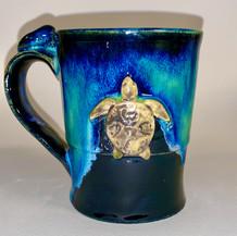 """Turtle Mug   Ceramics   4"""""""