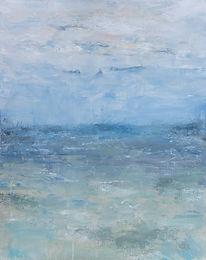 October Gulf Coast   Acrylic     24 x 30  