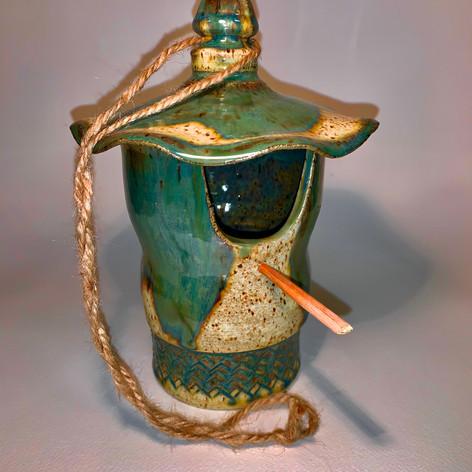 "Bird House | Ceramics | 8 1/2"""