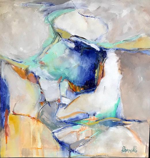 Abstract #88 | Acrylic Mixed Media | 24 x 24