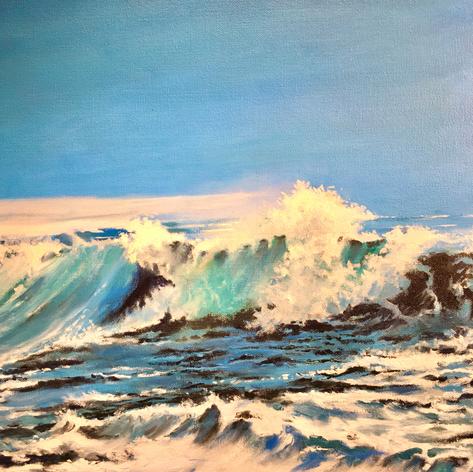 Breaking Wave | Oil | 20 x 16