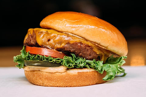Plant-based, protien-packed Beyond Meat® burger patty