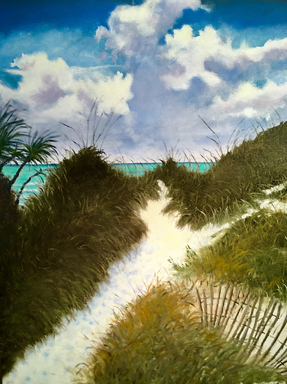 Path to Paradise | Oil | 30 x 24