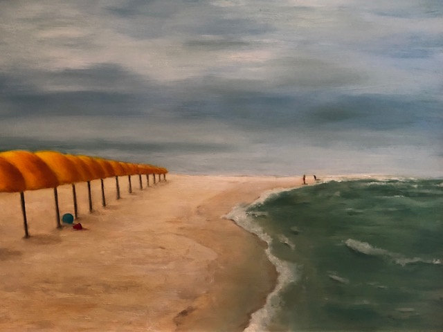Early Morning Play | Oil | 20 x 30