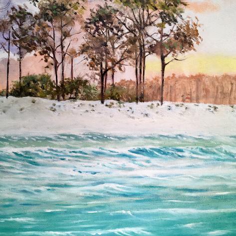 Grayton Beach | Oil | 20 x 16