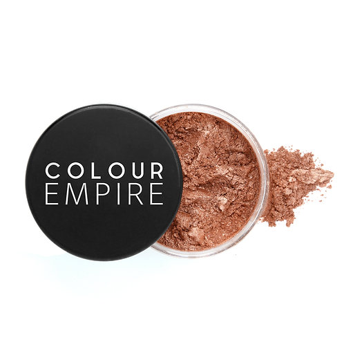 2-in-1 Highlight + Eye Shimmer Loose Powder - Sienna