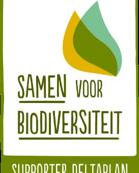 We're supporter of 'Deltaplan Biodiversiteitsherstel'