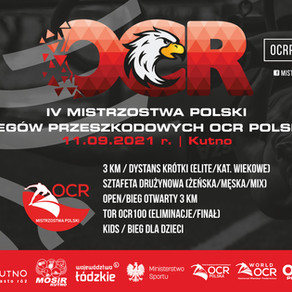 Zapowiedź Mistrzostw Polski biegów przeszkodowych 2021