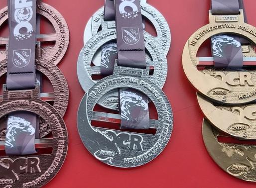 Mistrzostwa Polski OCR 2020 - drużynowa klasyfikacja medalowa