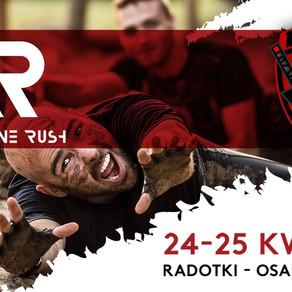 Adrenaline Rush OCR, Ninja Games - informacje, nagrody, mapa, przeszkody, zasady, parking, rulebook