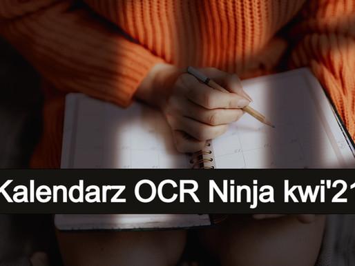 Kalendarz biegów OCR i Ninja 2021 - aktualizacja kwietniowa