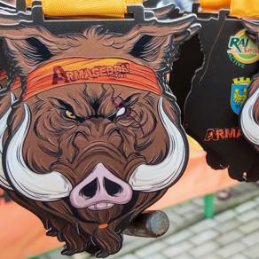 Armagedon Active Opole 2020 - relacja z biegu przeszkodowego w centrum miasta by Donata