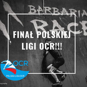 Finał Polskiej Ligi OCR i Ligi Ninja - sytuacja przed ostatnim biegiem tj. Barbarian Race / Arrow
