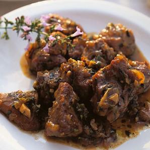 Scharfes Lammcurry provençal