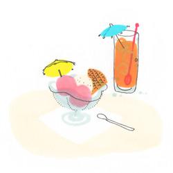 glace_et_jus_d'orange-fraicheur_et_bruits_de_glaçons
