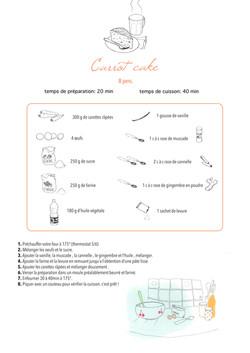 recette carrot cake sans tache orange
