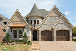 new construction home in Colleyville, TX