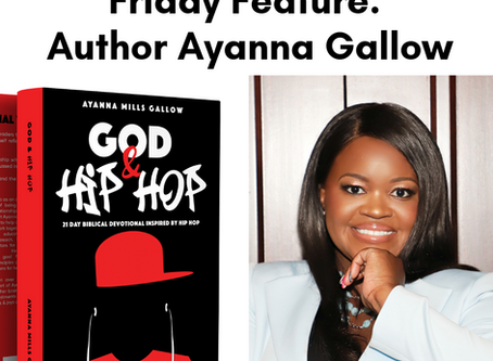 Friday Feature Author Ayanna Gallow