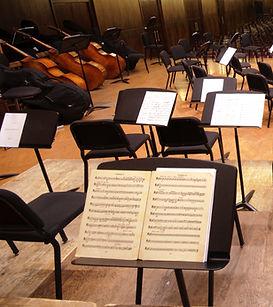 Etapa orquesta vacía