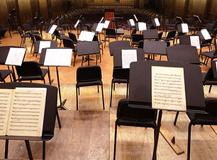 Empty Orchestra Stage