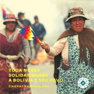 Solidariedade à Bolivia