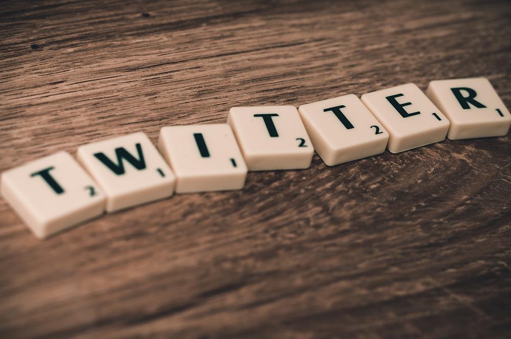 Twitter Scrabble Letters