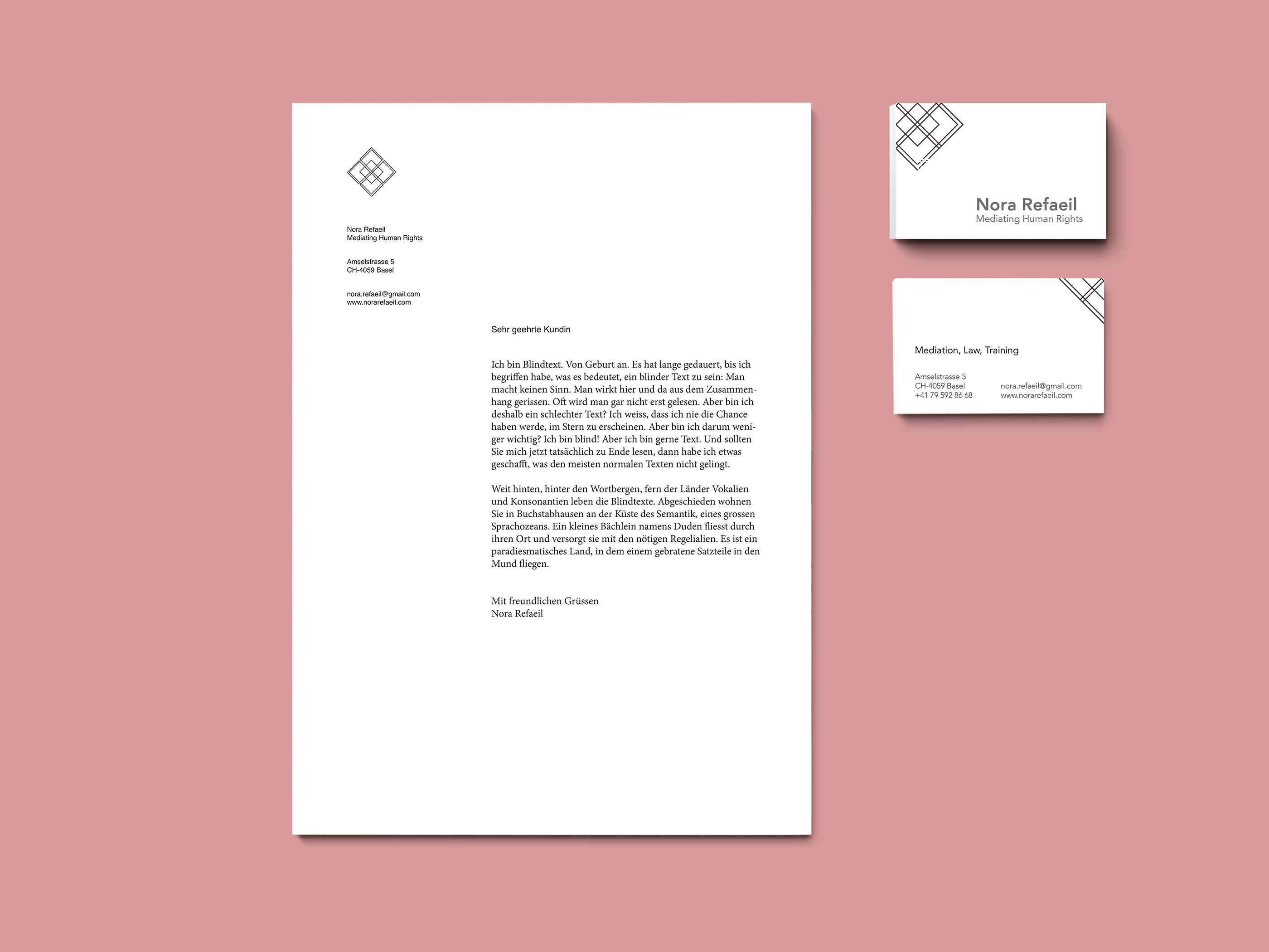 Handy Advokatur Sami Di Pasquale Grafik Design Schweiz