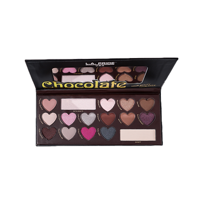 Chocolate Pigmented Eyeshadow Palette