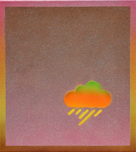 orange storm cloud, fragmented soul series
