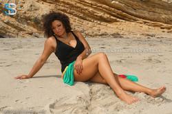 Malibu Beach Shoot (natural hair)