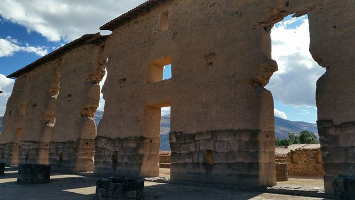 Rachi, old temple to Wiracocha - could h