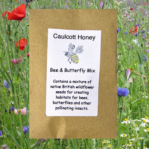 Bee & Butterfly Seed Mix 10g.