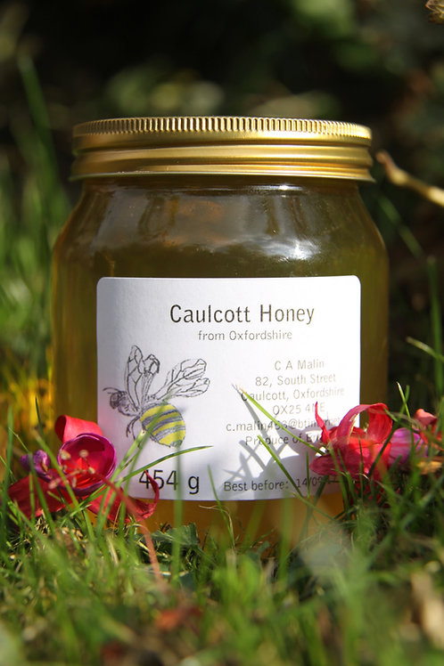 Caulcott Honey 1lb jar (454g)