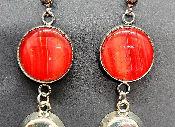 Chiefs Spirit Post-Dangle Earrings
