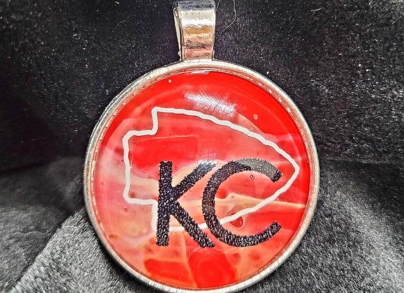 KC Chiefs Spirit Pendant Necklace