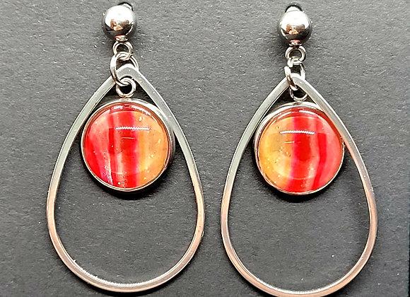 KC Chiefs Spirit Dangle Earrings