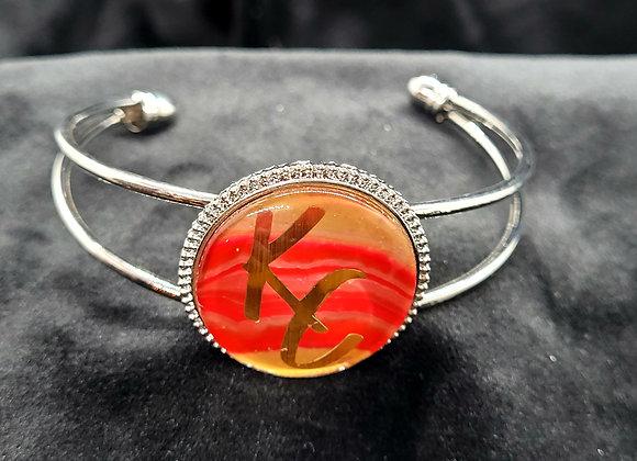 Cuff 'KC' Chiefs Bracelet