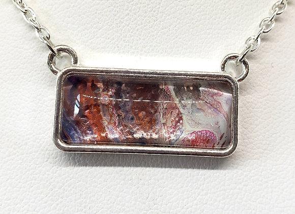 Horizontal Bar Pendant Necklace