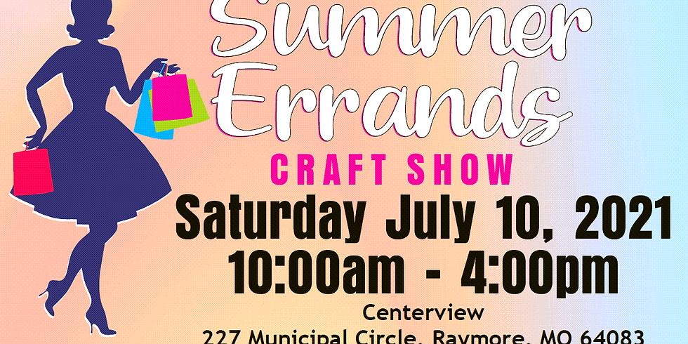 'Summer Errands' Craft Show