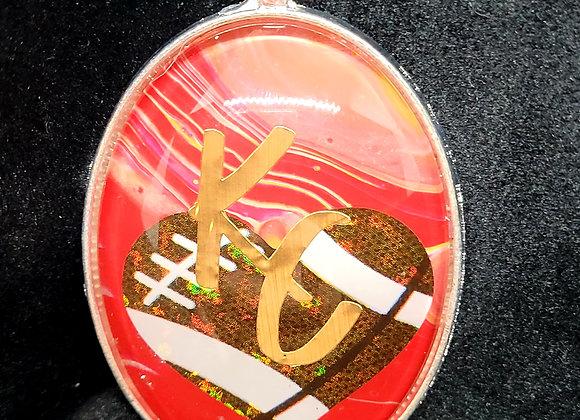 KC Chiefs Pendant Necklace