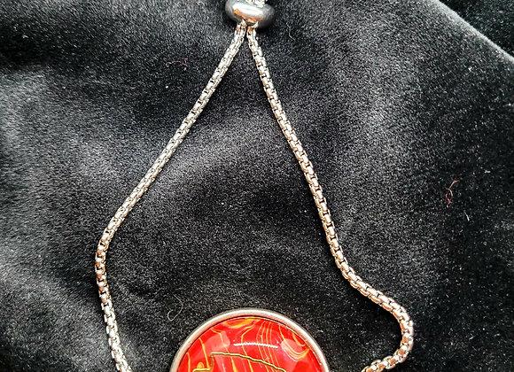 Slide Closure Arrowhead Chiefs Bracelet