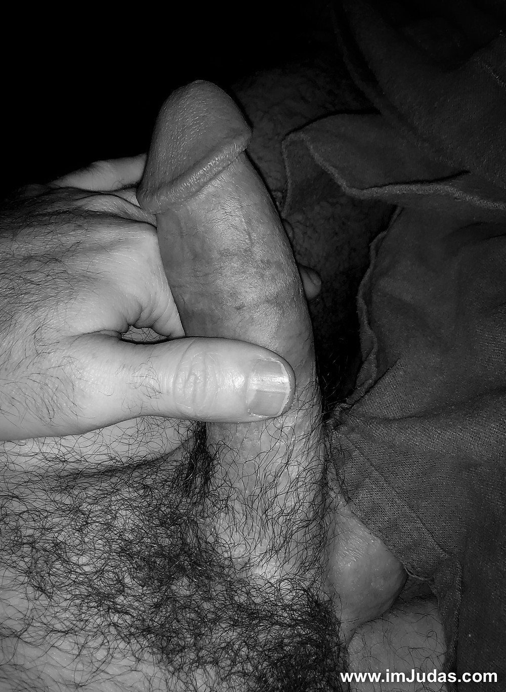 My morning wood wakes me up before my alarm clock.