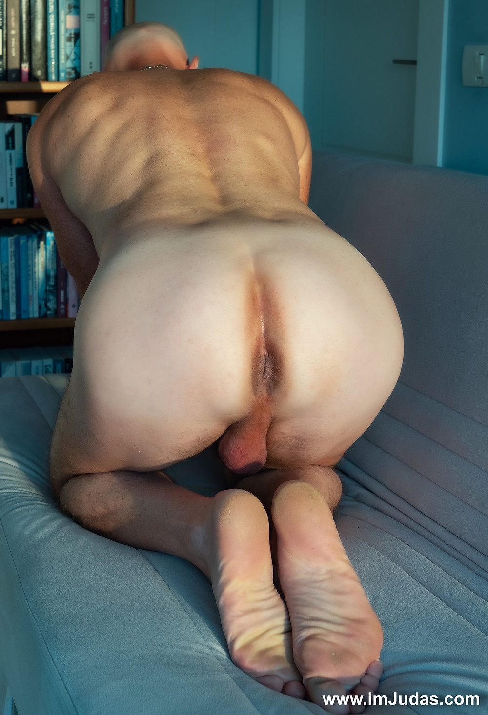 naked anus ass hole male model man