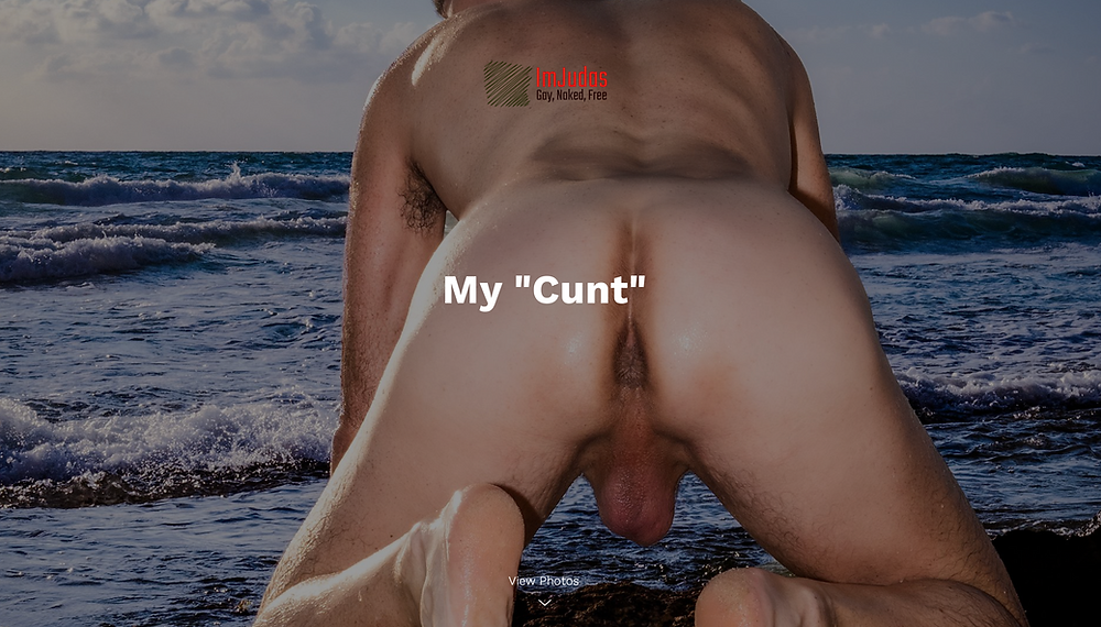 Cunt, Anus, Hole, Cum Hole - I don't care how you call it as long as you fuck it!