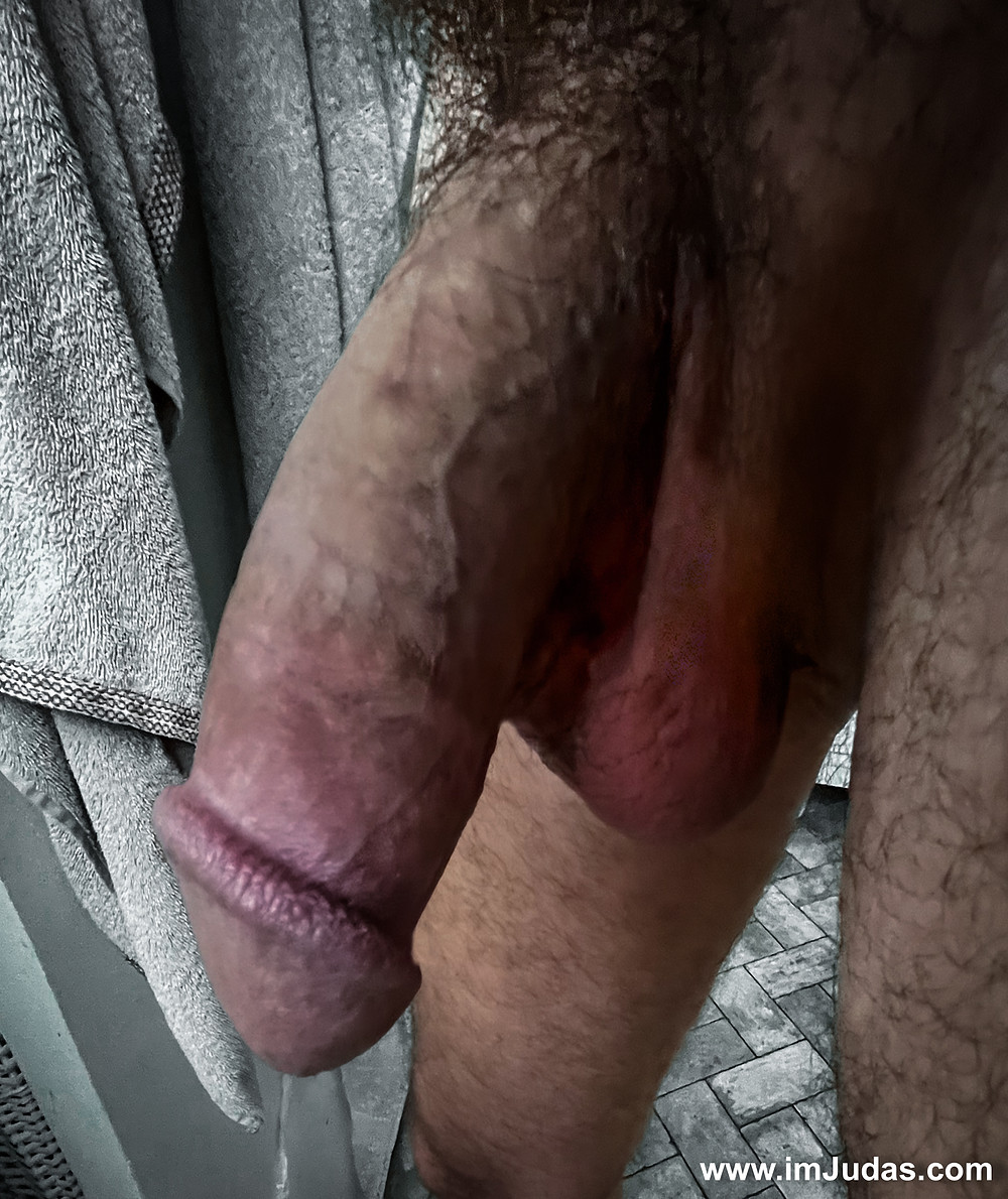 It took my cock a long time to relax and even longer to pee.