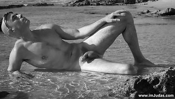 What is my opinion regarding mature guys at the nudist beach?
